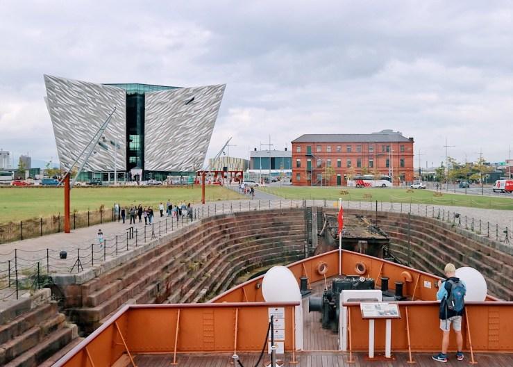 鐵達尼號(泰坦尼克号)博物館(Titanic Belfast)© 走起 — JOIN ME 英國公路旅行