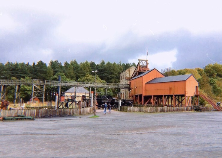 Beamish露天博物館,煤礦處理廠,England
