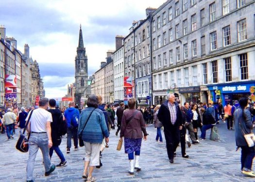 Edinburgh, Edinburgh: Royal Mile Avenue