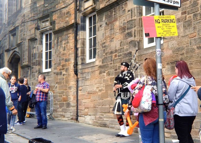 愛丁堡Edinburgh:皇家一英里大道(Royal Mile​)