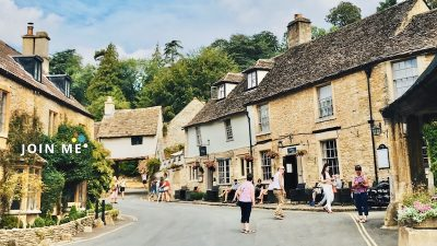 Cover 科茲窩Cotswolds:科姆堡(Castle Combe)