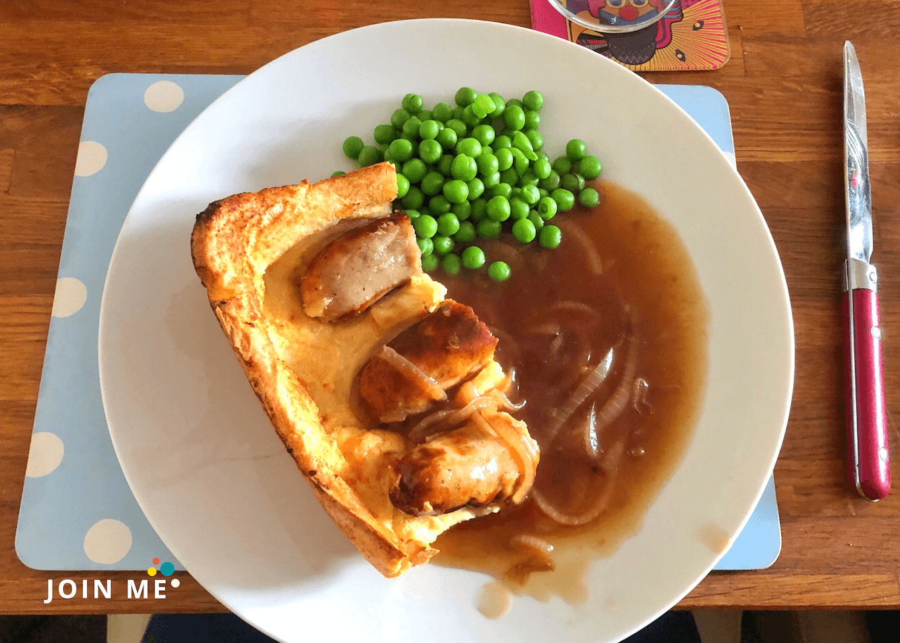 British cuisine: squatting in the hole