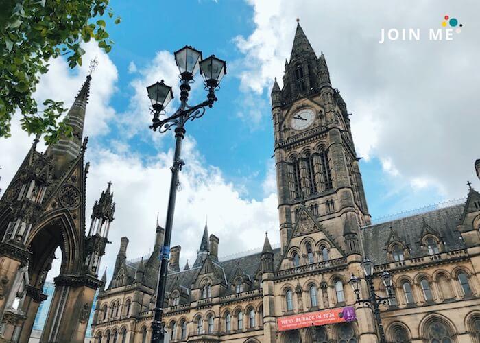 曼彻斯特Manchester:曼侧斯特市政厅(Manchester Town Hall)