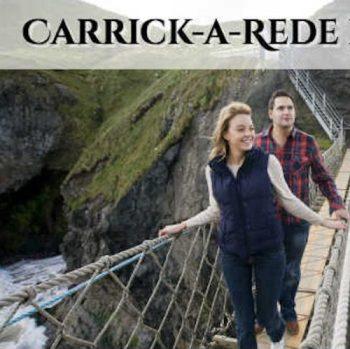 卡里克雷德索吊橋 Carrick-a-Rede Rope Bridge