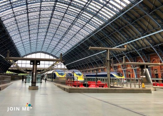 倫敦 London 聖潘克拉斯站 St Pancras International