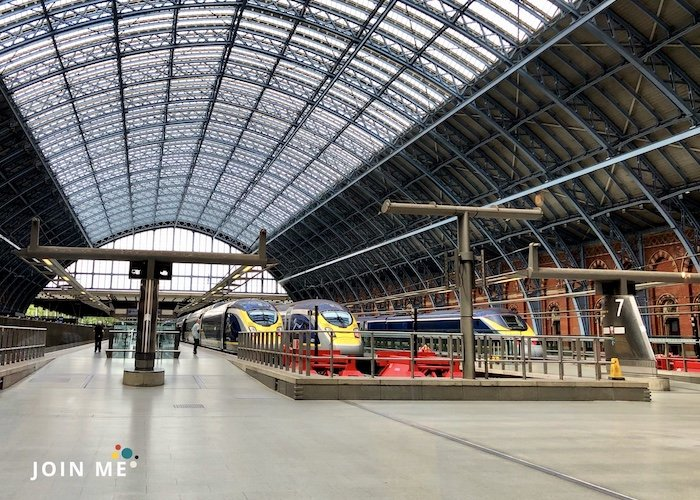 伦敦London 圣潘克拉斯站St Pancras International