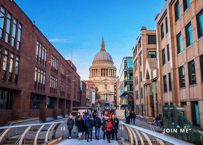 伦敦London:圣保罗大教堂(St Paul's Cathedral)