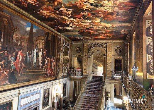 達西莊園/查茨沃斯莊園(Chatsworth House):壁畫