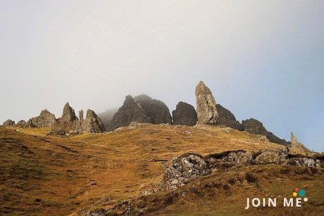 蘇格蘭高地 Scottish Highlands:老人岩(Old Mann of Storr)