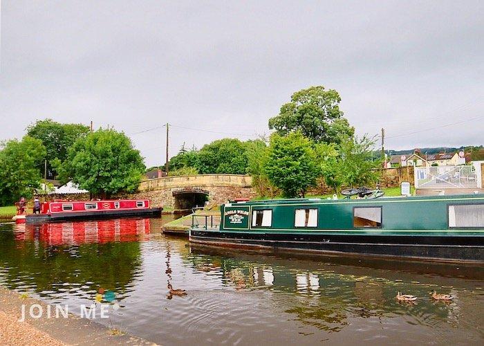 威爾斯Wales:龐特卡薩魯岧水道(Pontcysyllte Aqueduct)運河
