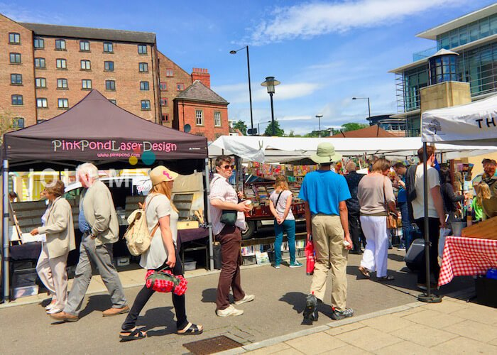Newcastle Quayside Sunday Market