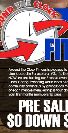 Around The Clock Fitness Sarasota : around, clock, fitness, sarasota, Around, Clock, Fitness, Sarasota, PreSale, Event