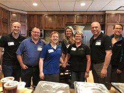 Platinum Realty volunteers
