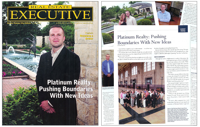 Real estate executive cover