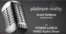 Power Lunch radio show header