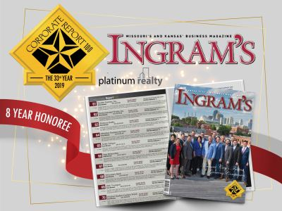 Ingram's Magazine Recognizes Platinum as Top Area Company for 8th Time