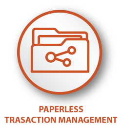 Paperless-transaction-management-icon