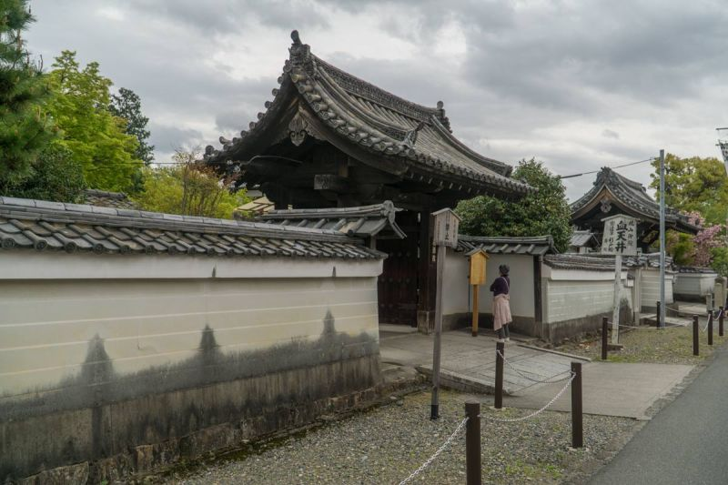 Entrance to Yogenin bloody ceiling temple