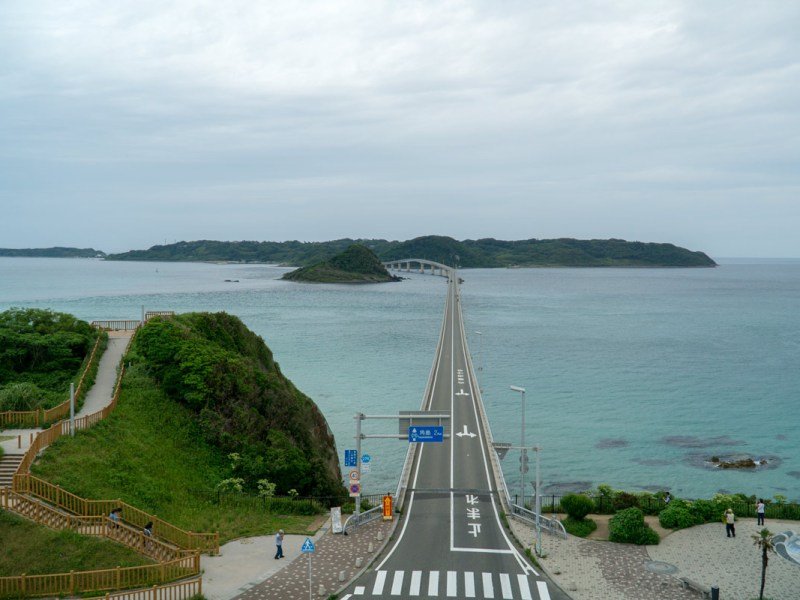 Tsunoshima east bridge view