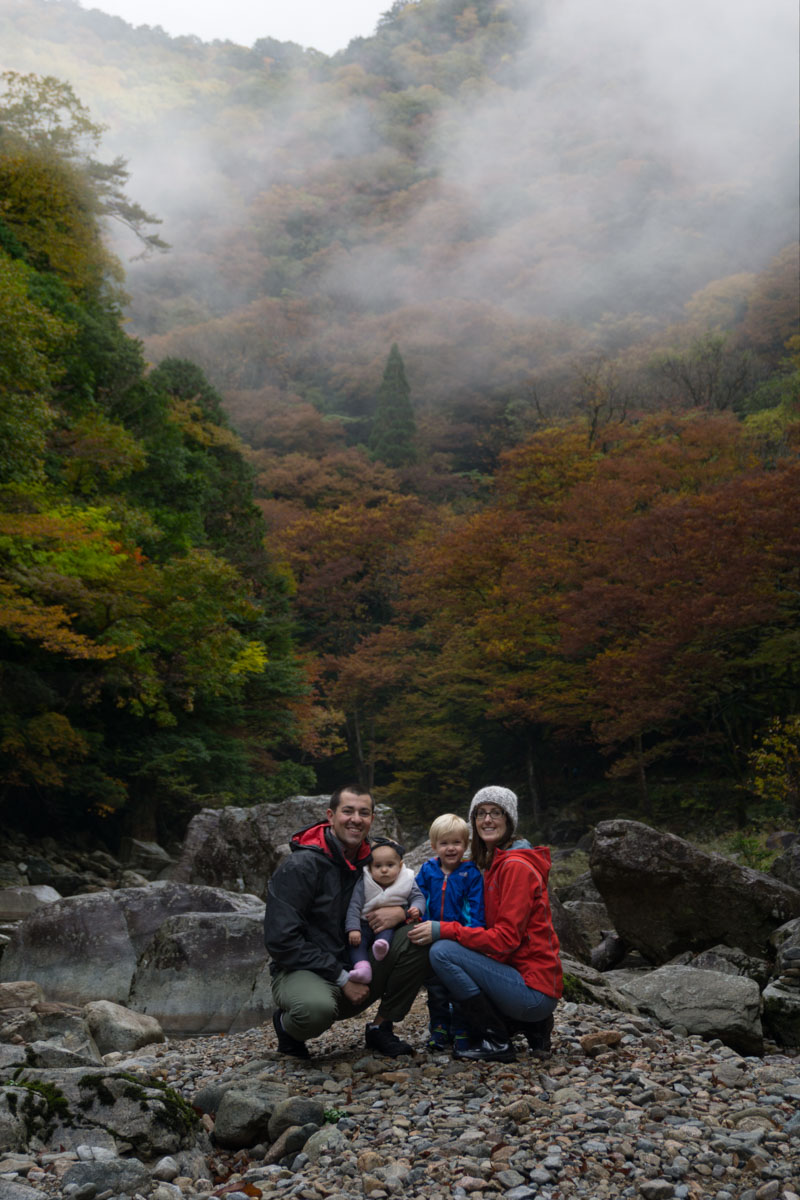 Sandankyo Family hike