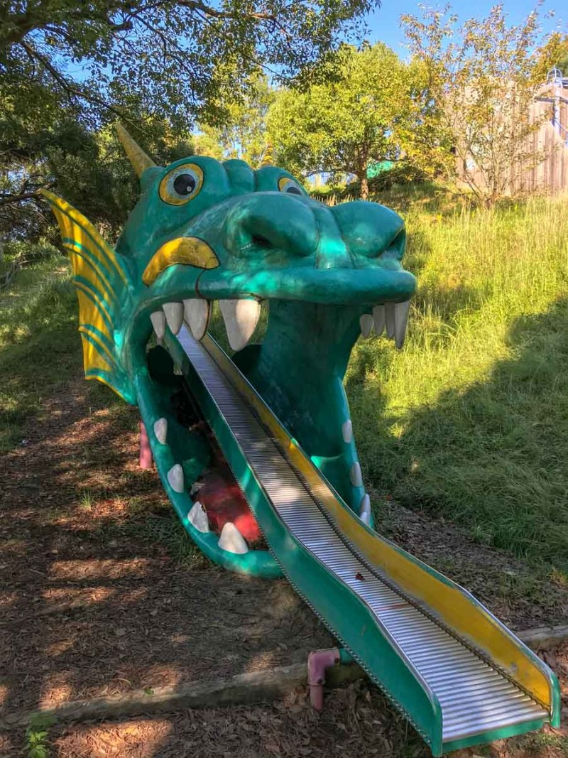 Shodoshima Dragon road slide