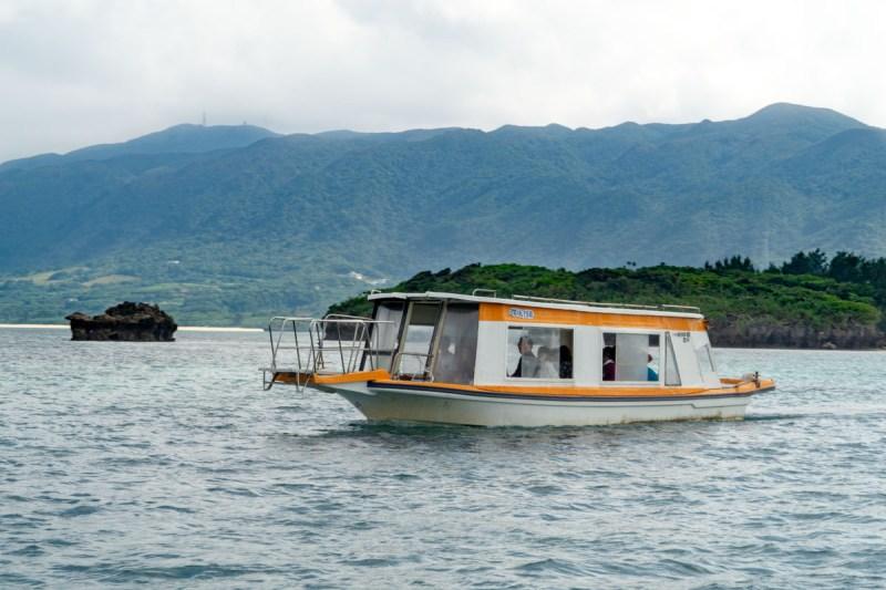 Ishigaki Island Kabira Bay glass bottom boat