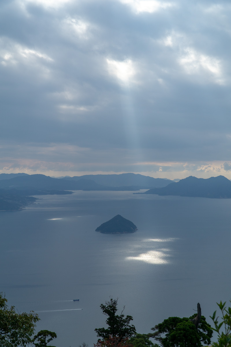 Miyajima-View from the top of Mount Misen