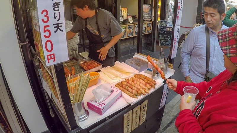 Miyajima-food on a stick