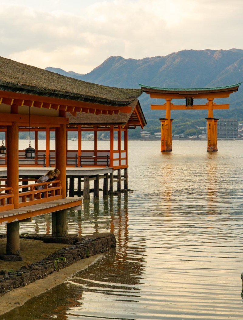 Miyajima-views from Itsukushima shrine