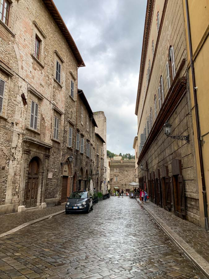 Beautiful streets of Narni