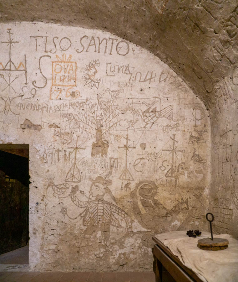 Prison cell in Narni