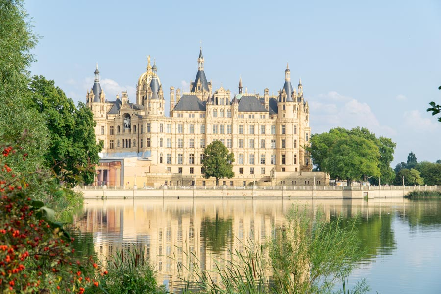 View of Schwerin Castle