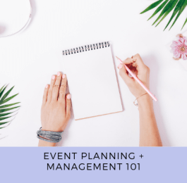 Event Planning and Management 101 Thumbnail