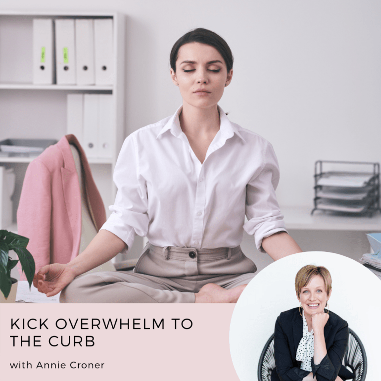 Kick Overwhelm to the Curb Course with Annie Croner