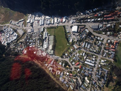 Aerial View of Queenstown