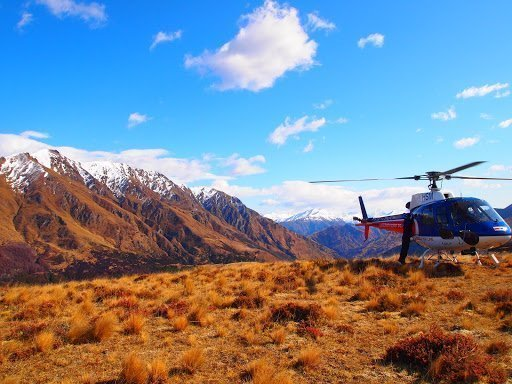 Helicopter ride Queenstown