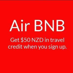AirBNB – Get $50 NZD Credit!