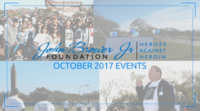 Join Us for the John Brower Jr. Foundation's October Events