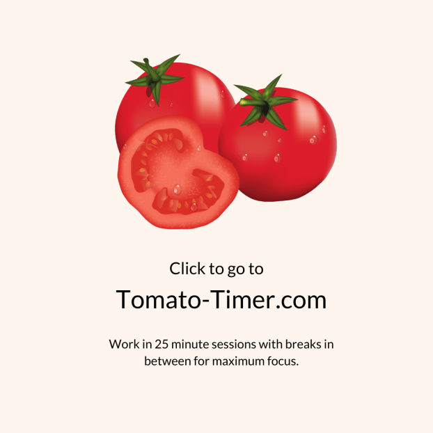 The Tomato-timer and 2 other free digital tools to help you stay focused while working from home | multi-passionate creative | Joi Knows How Blog