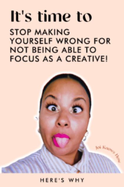 focus, joi knows how, mindset, multi-passionate