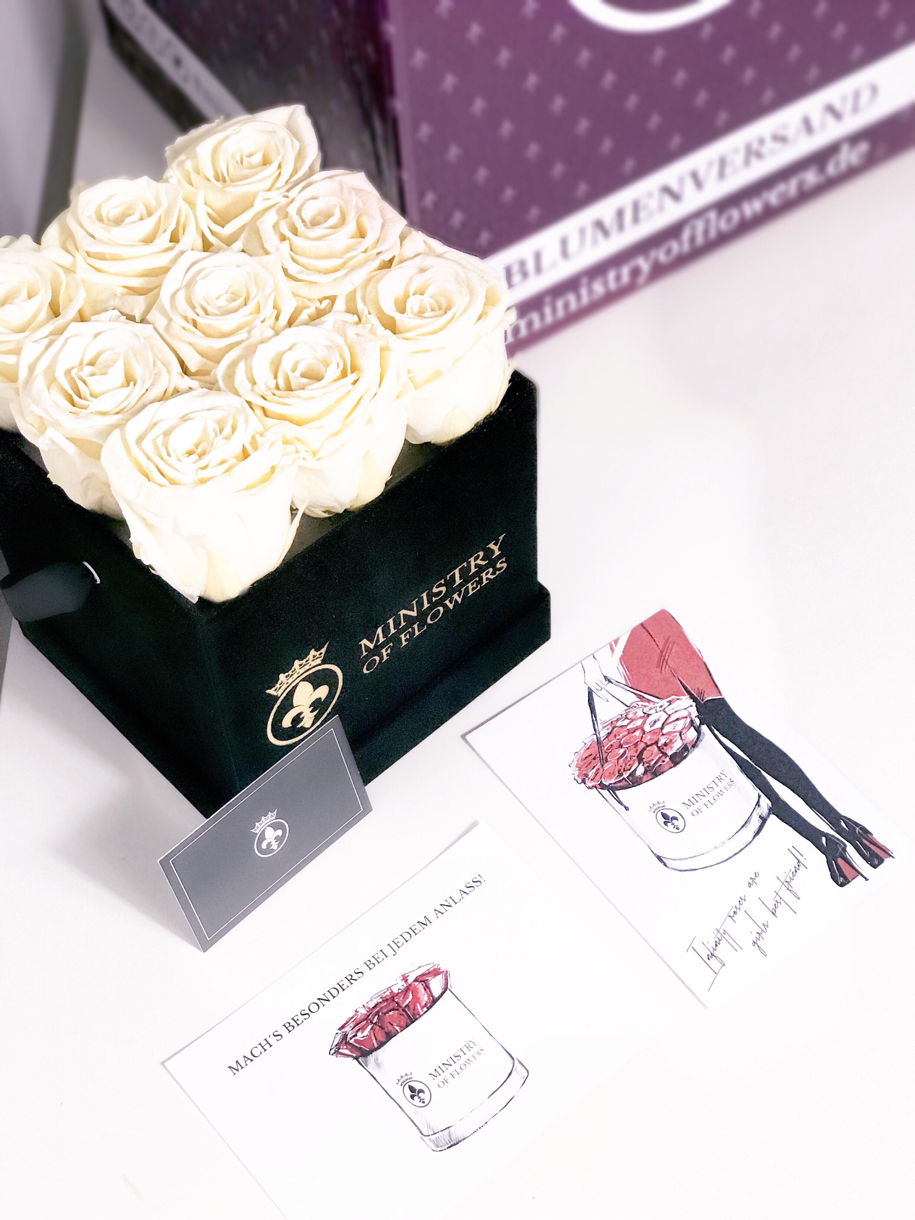 Flowerbox von MinistryOfFlowers – eine Geschenkidee, nicht nur zum Valentinstag + Gewinnspiel