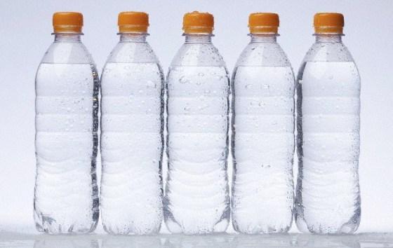 agua en botellada