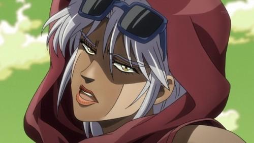ジョジョ アニメ 第三部 第31話 マライア「しつこいね!バカ」