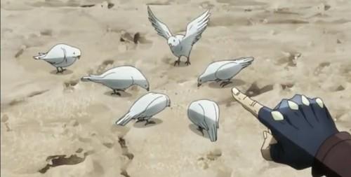 ジョジョ アニメ 第14話 ジョジョ「ハトにさえ勝てない」