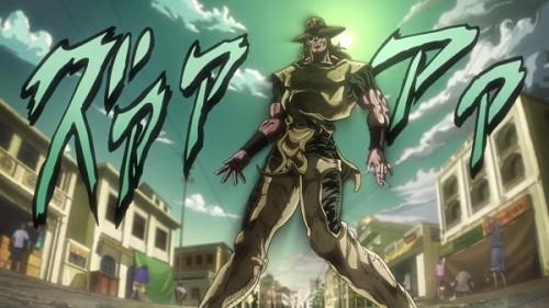 ジョジョ アニメ 第三部 第10話 ホル・ホース 銃は剣よりも強し