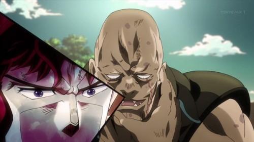 ジョジョ アニメ 第三部 第11話 J・ガイル 「へーっ!待ちな!まわりをよく見ろ!」