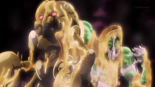 ジョジョ アニメ 第三部 第17話 脳細胞を身にまとったラバーズ