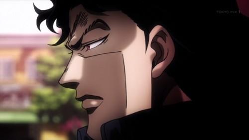 ジョジョ アニメ 第三部 第17話 ダンの横顔