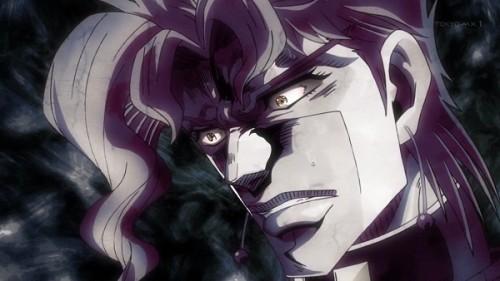 ジョジョ アニメ 第三部 第20話 信じてもらえずショックの花京院