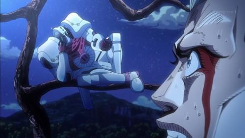 ジョジョ アニメ 第三部 第21話 カメオ 「いやだよおォォォォ~~~んンンンンン」